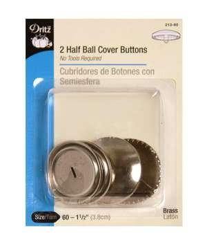 Dritz 2 Half Ball Cover Buttons