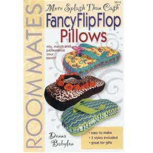 Fancy Flip Flop Pillows