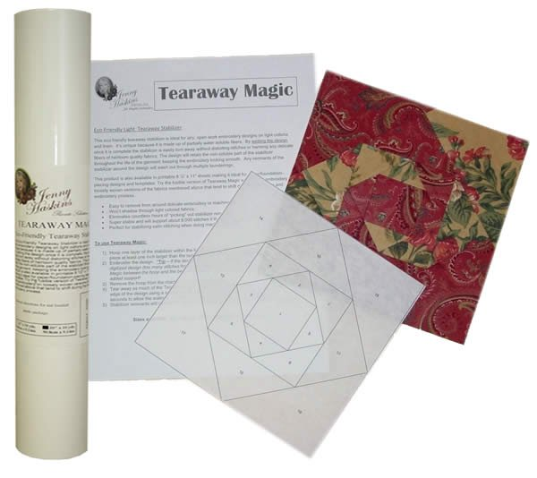 Jenny Haskins Tearaway Magic Fusible