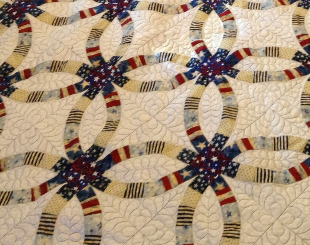 Example of Edna's quilting