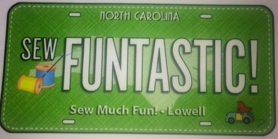 2017 license plate