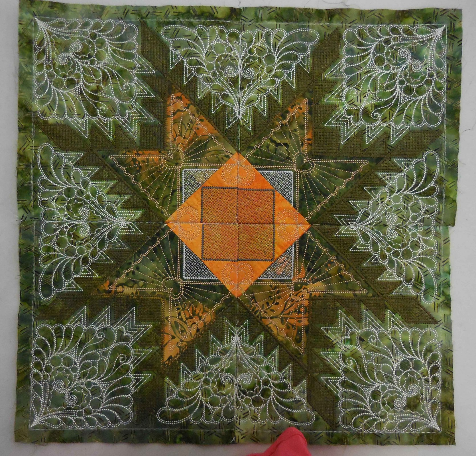 Hoopsisters Embroidery Block Of The Month 2015 2017