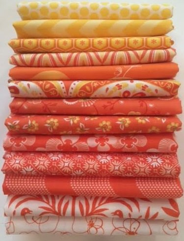 Candy Corn Fat Quarter Bundle LAST ONE!