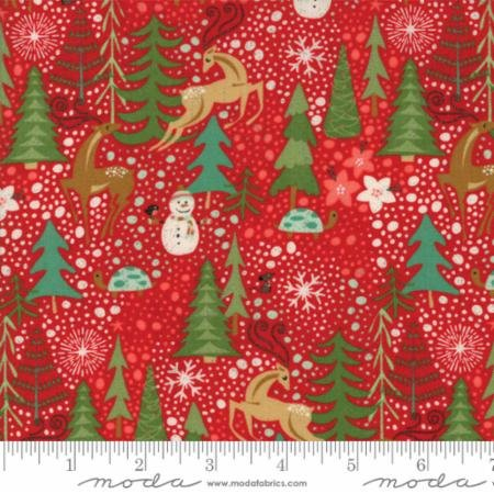 Berry Merry Cream Reindeer Games 30470 11 by BasicGrey for Moda