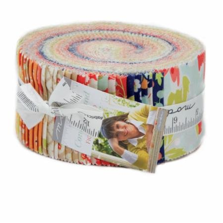 Coney Island Jelly Roll 20280JR by Fig Tree & Co for Moda