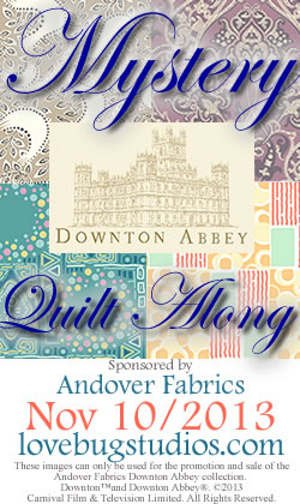 Lady Edith S Quilt The Downton Abbey Mystery Quilt Along