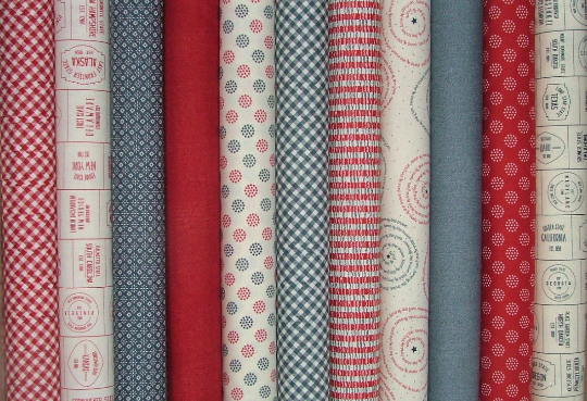 Freedom Fat Quarter Bundle of 11 by Sweetwater for Moda