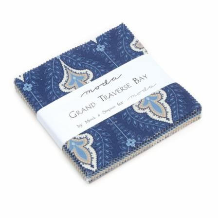 Grand Traverse Bay Charm Pack by Minick & Simpson for Moda