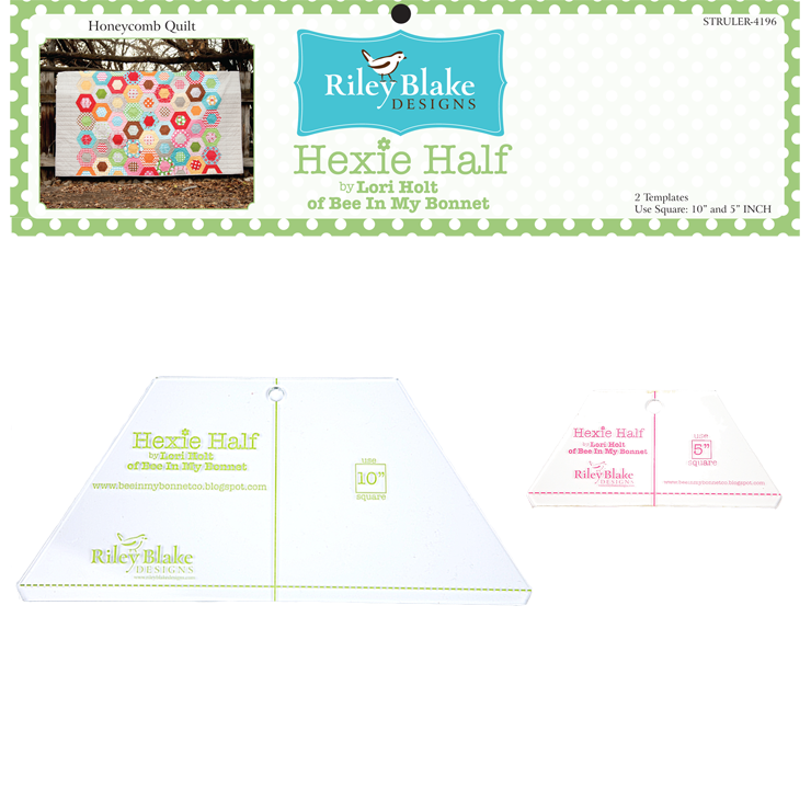 Hexie Half 10 Ruler