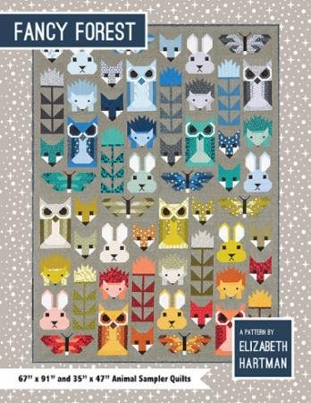 Fancy Forest EH 023 Pattern By Elizabeth Hartman - more in stock soon!