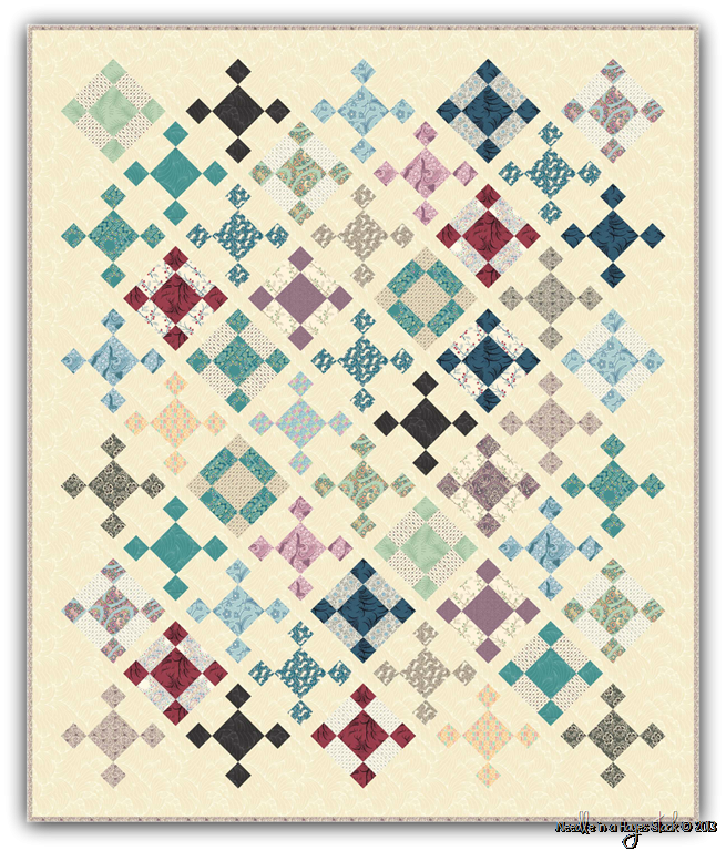 Ladies Of Downton Abbey Quilt Kit