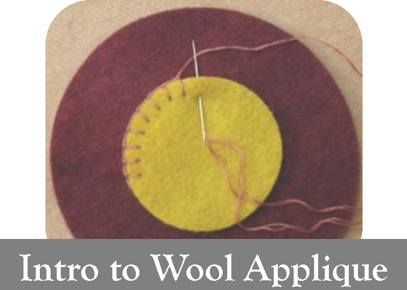 Intro To Wool Applique