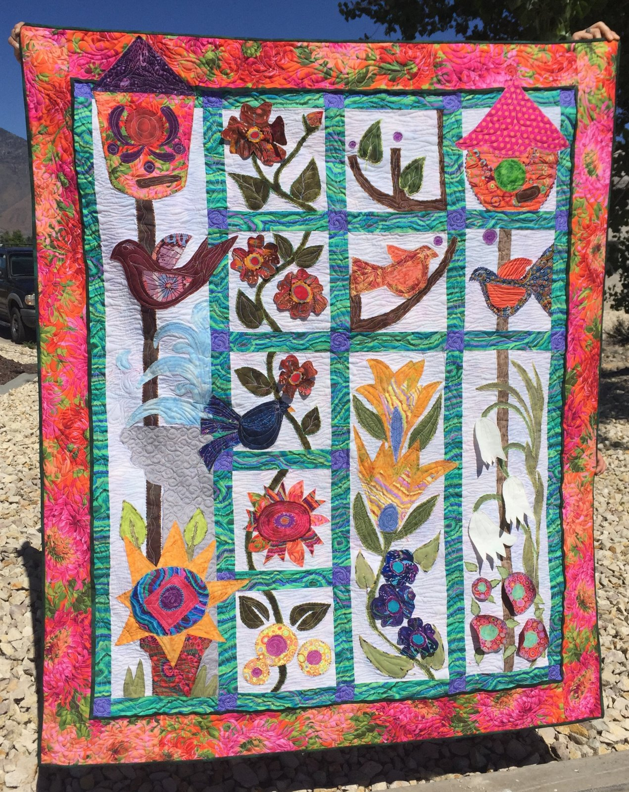 Alice's Garden Block of the Month