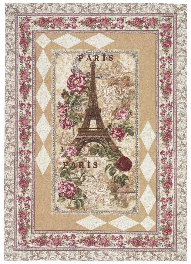Timeless Treasures Paris Rendezvous Parisienne Quilt Kit