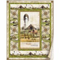 Greener Pastures Quilt kit