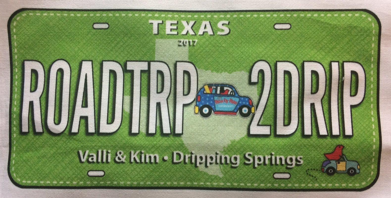 License Plate - ROADTRP 2DRIP (2017)