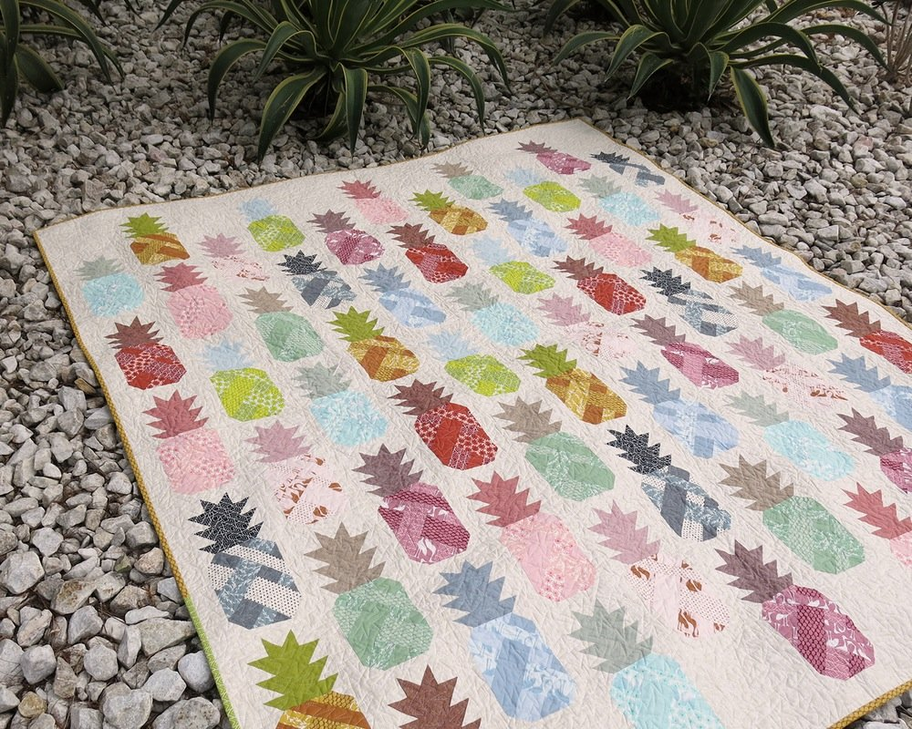 Pineapple Farm Quilt & Pillow Pattern