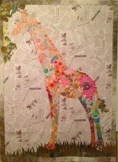 Potpourri Giraffe Quilt Pattern