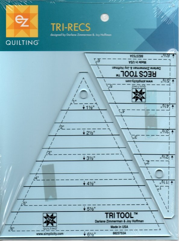Tri-Recs ™ Ruler Set