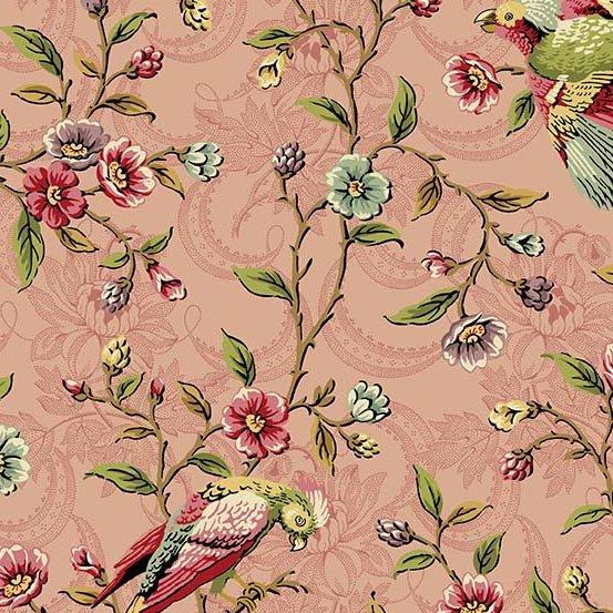 Bally Hall - Birds On A Vine - Rose