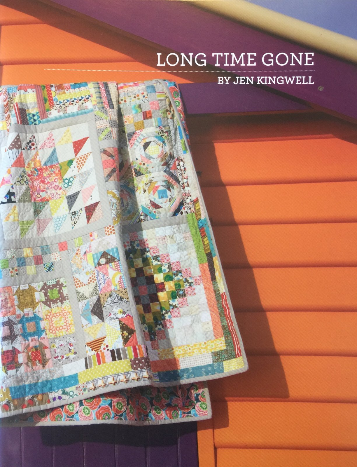 Long Time Gone Booklet by Jen Kingwell Designs