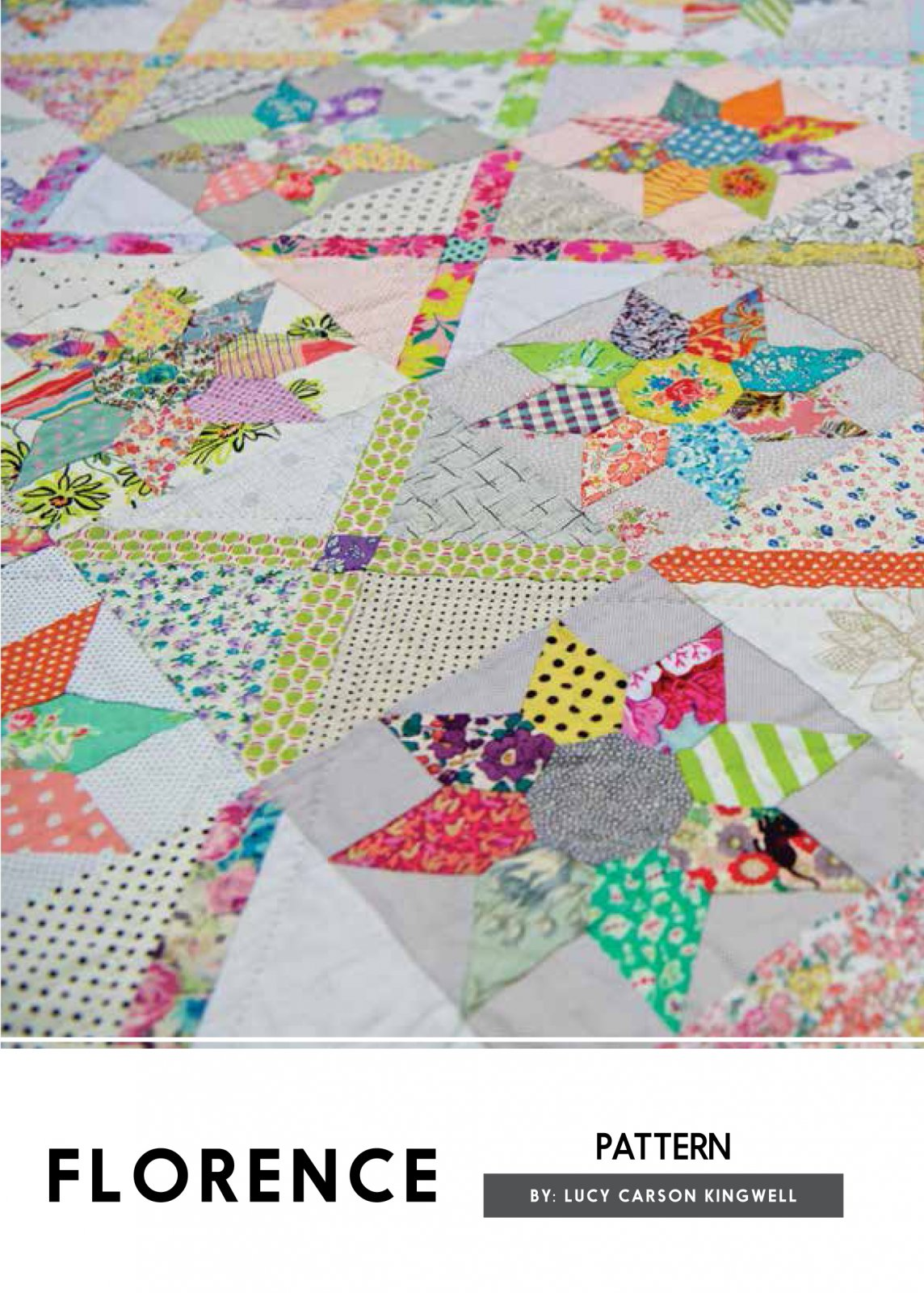 Florence Pattern by Lucy Carson Kingwell for Jen Kingwell Designs