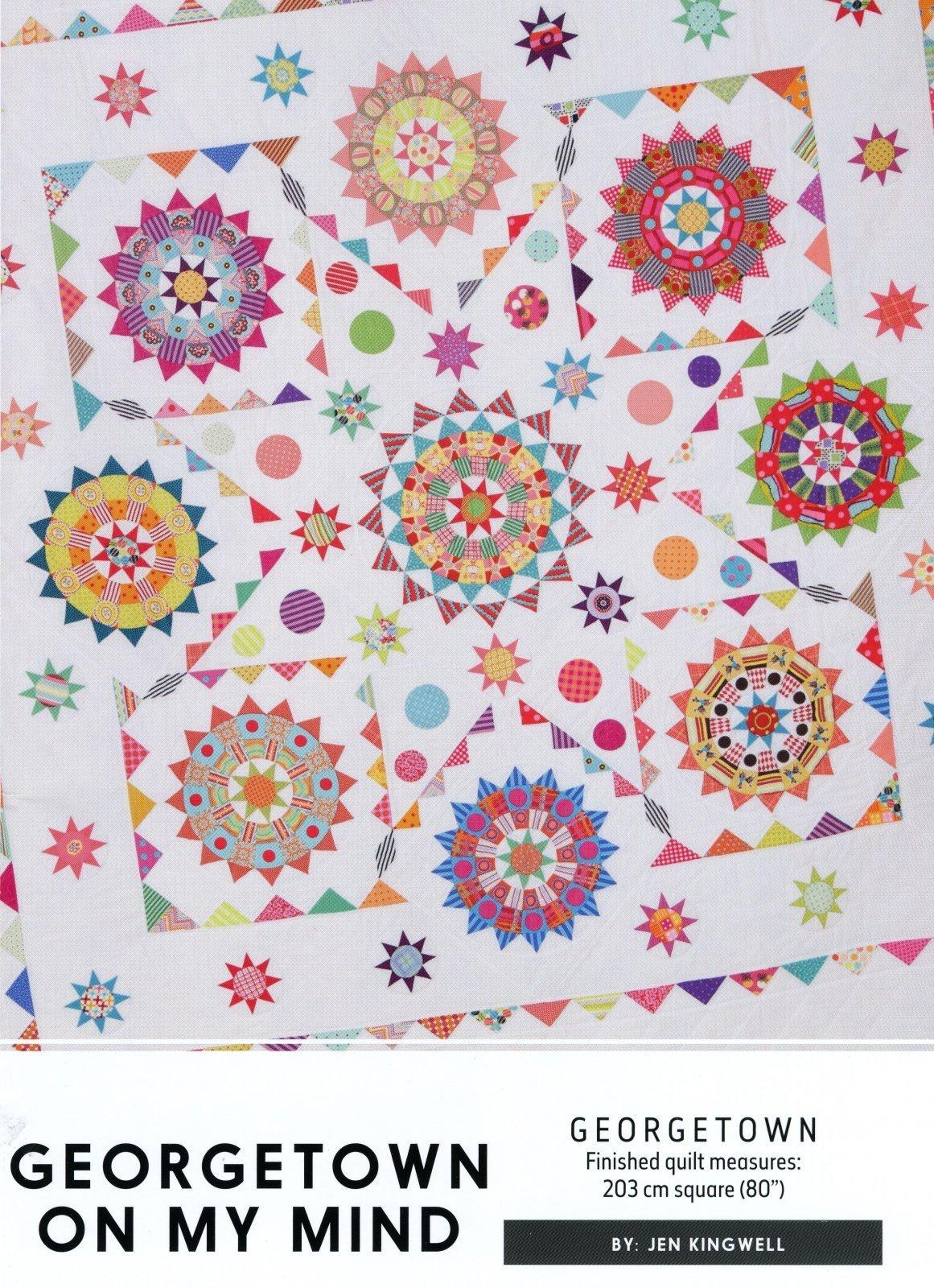 Georgetown On My Mind Pattern by Jen Kingwell Designs
