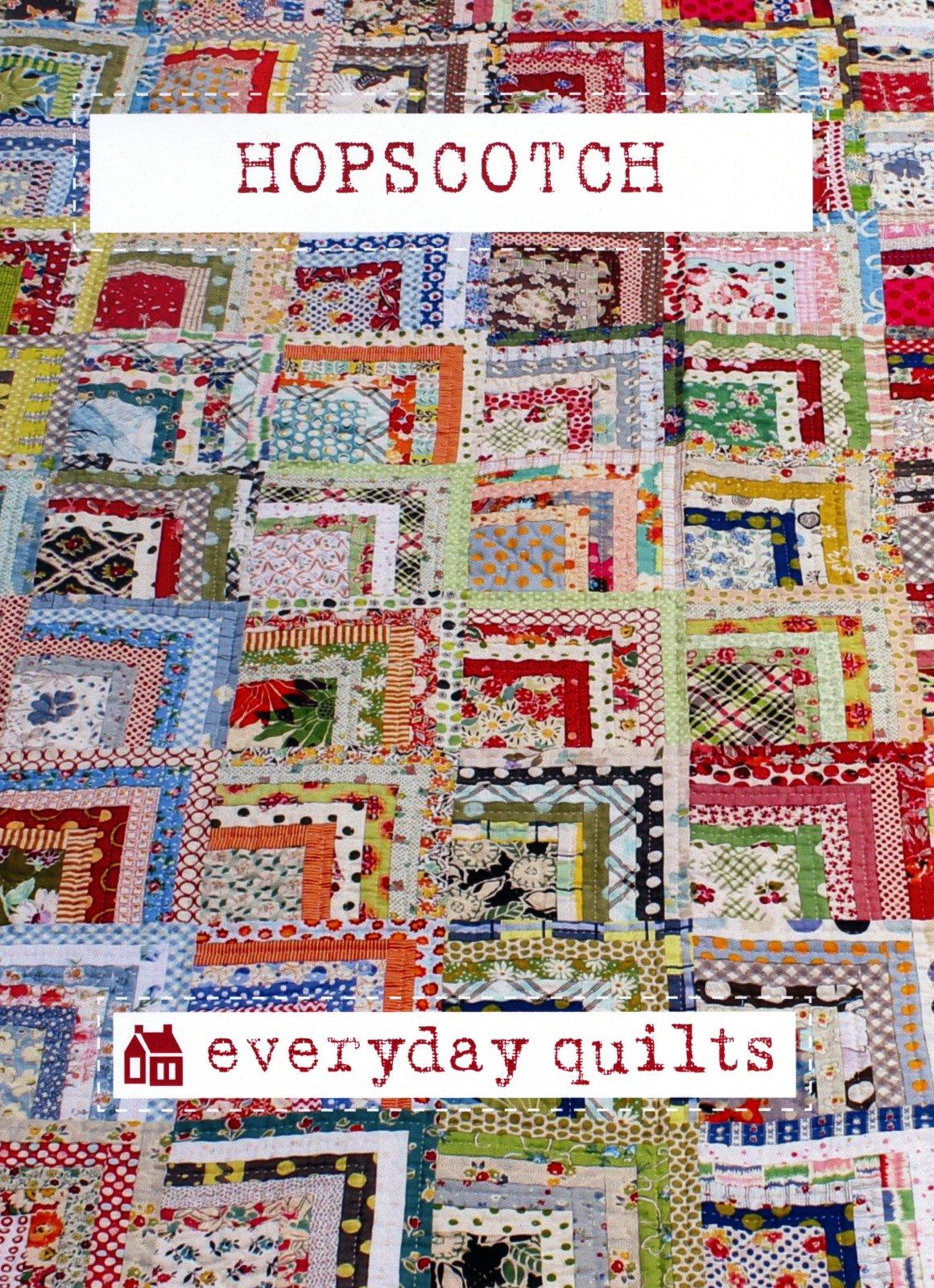Sandra Boyle - Everyday Quilts - Hopscotch