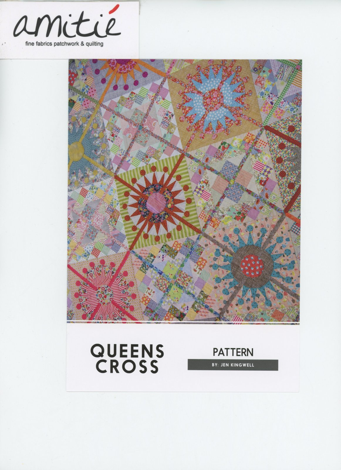 Queens Cross Pattern by Jen Kingwell Desigsn