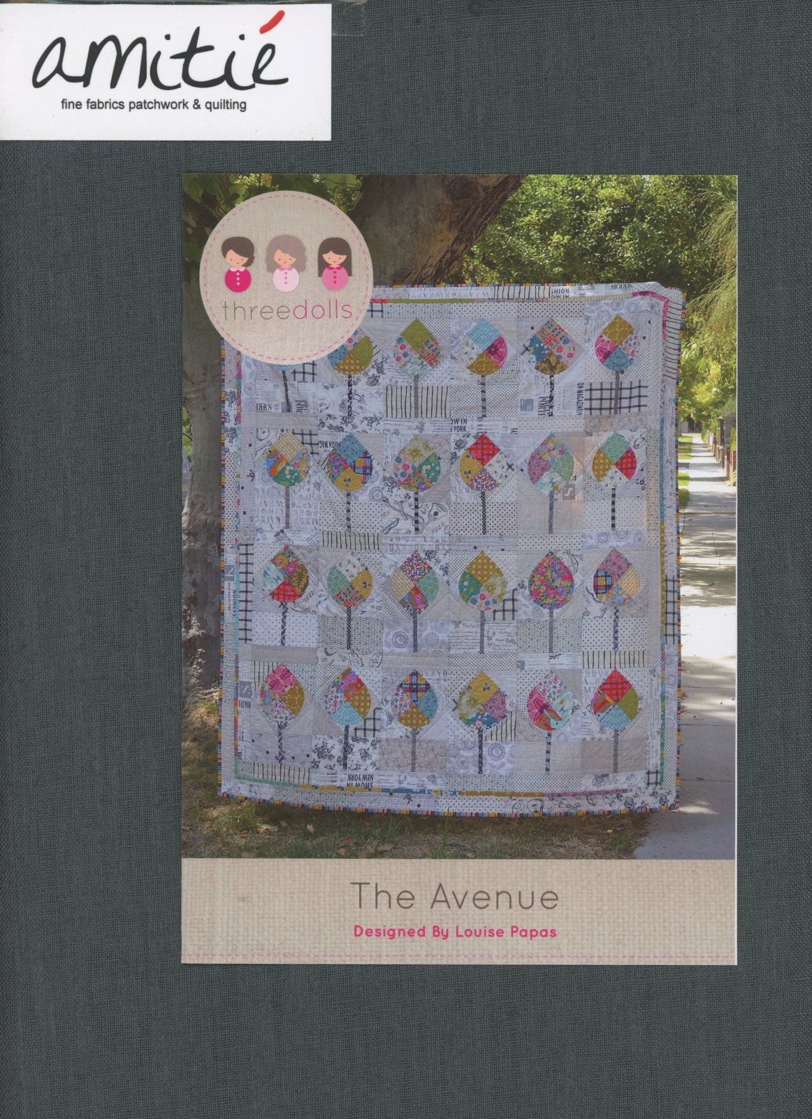 The Avenue Authentic Acrylic Template by Louise Papas