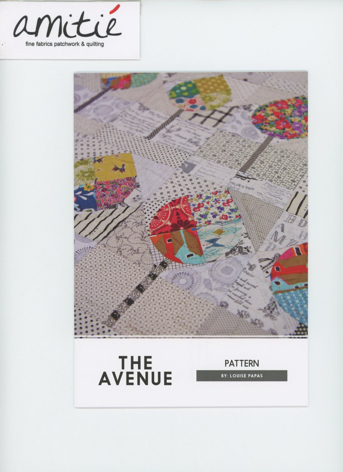 The Avenue Pattern by Louise Papas