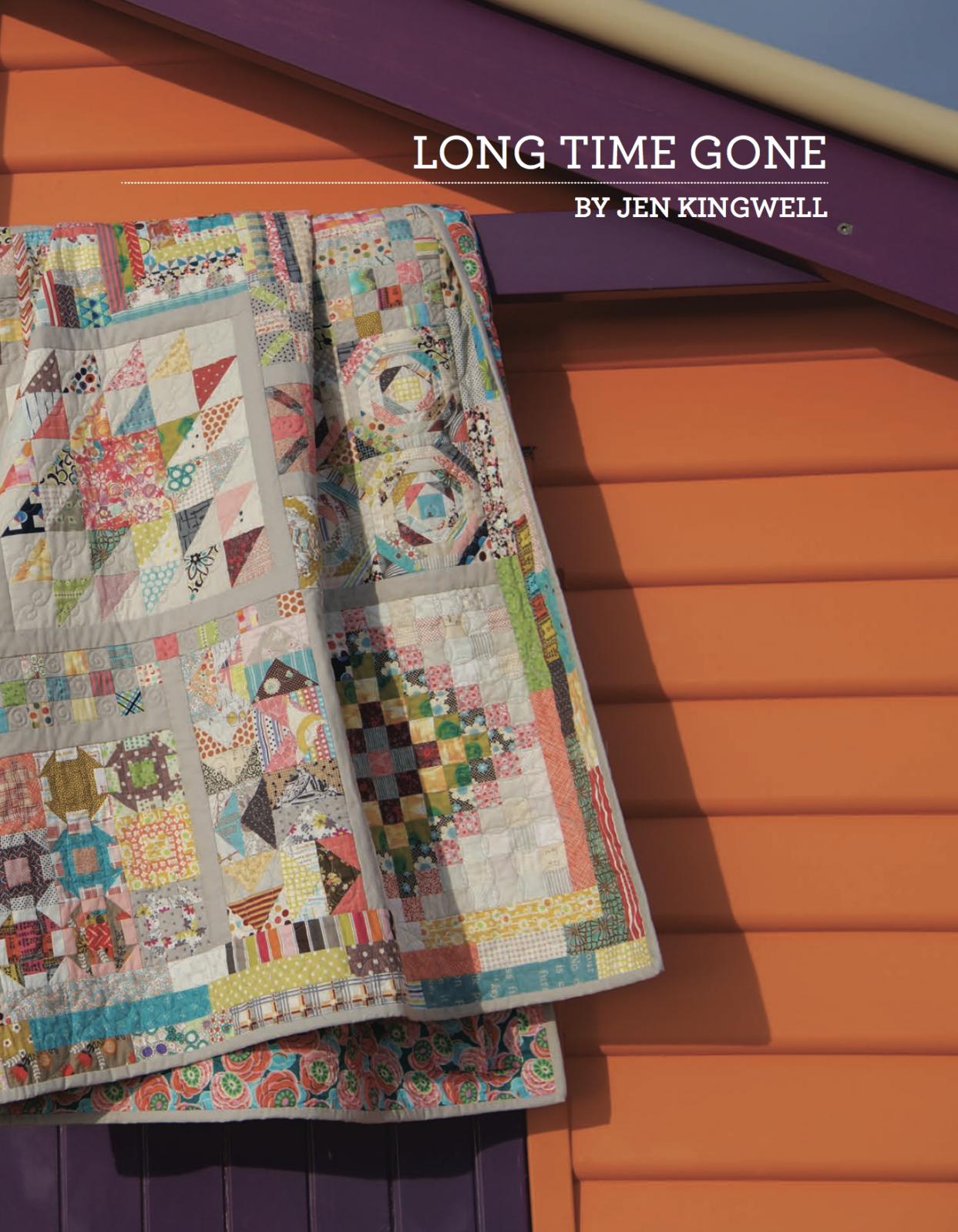 Long Time Gone Booklet by Jen Kingwell Designs