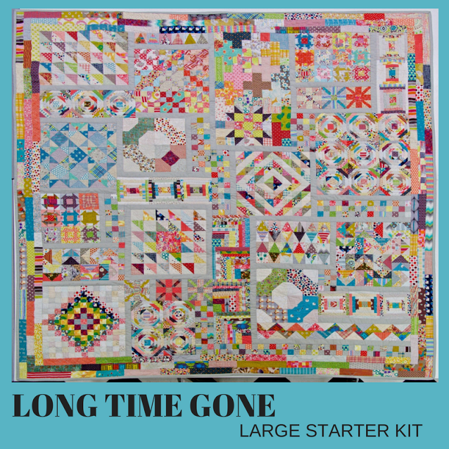 Long Time Gone Large Kit - Includes Pattern
