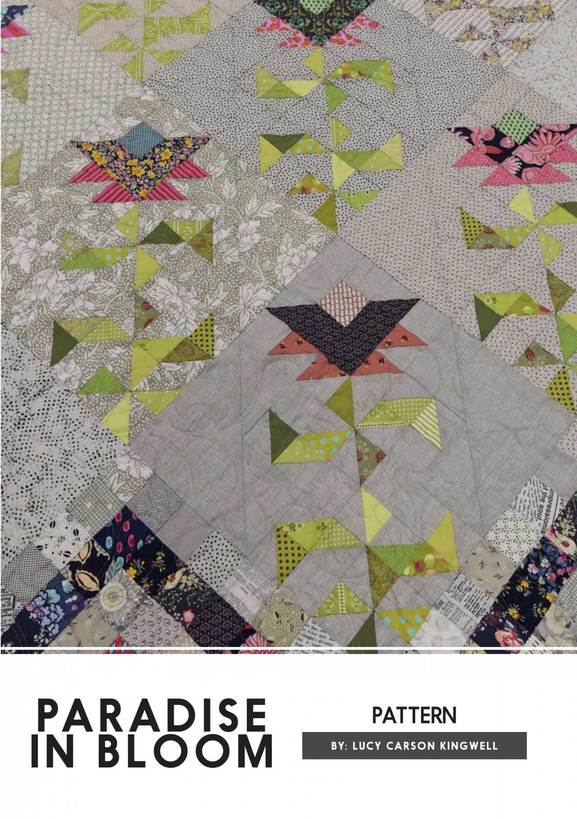 Paradise In Bloom Pattern by Lucy Carson Kingwell