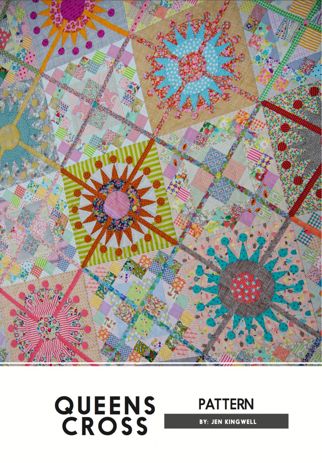 Queens Cross Pattern by Jen Kingwell Designs