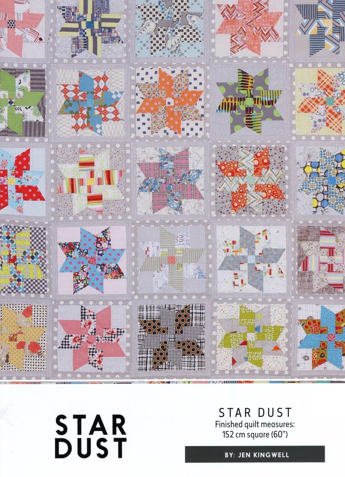 Star Dust Pattern by Jen Kingwell Designs