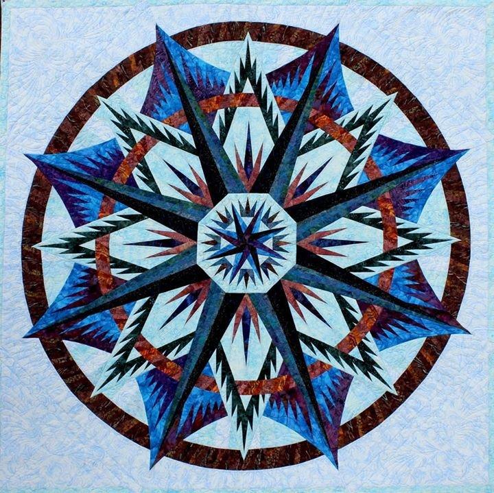 Quilting Patterns Mariner S Compass : Mariner s Compass - Judy Niemeyer