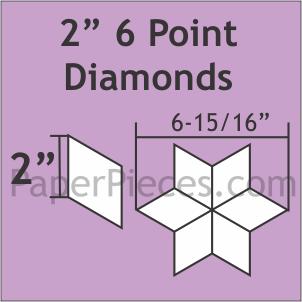 2 6 Point Diamond