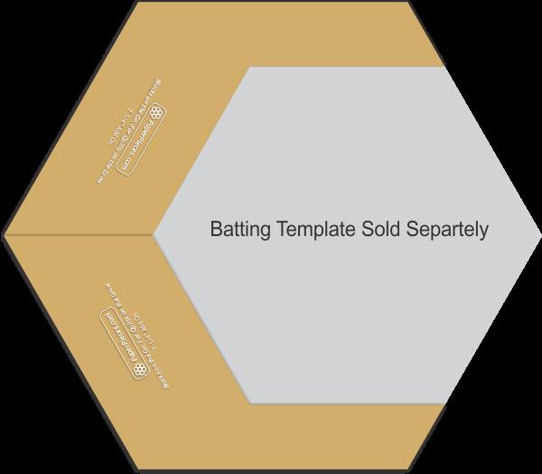 7 1/4 Backing Cutting Template (2 piece set)