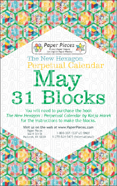 May Blocks - Paper Pieces