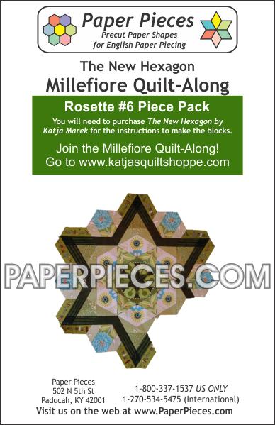Rosette #6 Piece Pack