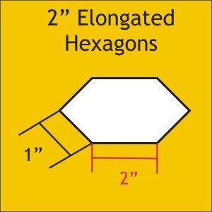 2 Elongated Hexagon