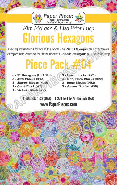 Glorious Hexagons Piece Pack 4