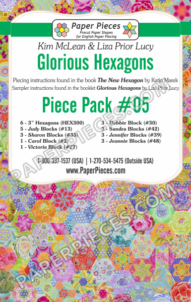 Glorious Hexagons Piece Pack 5