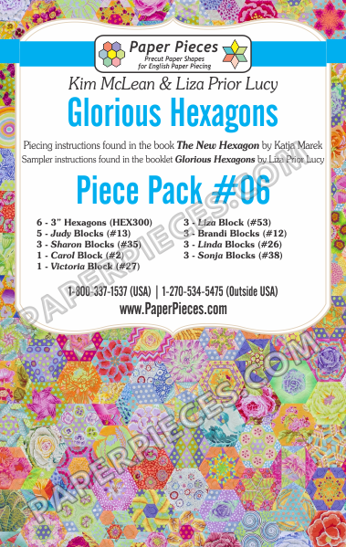 Glorious Hexagons Piece Pack 6