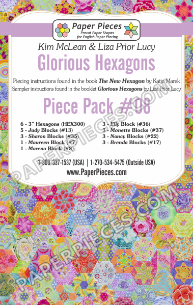 Glorious Hexagons Piece Pack 8
