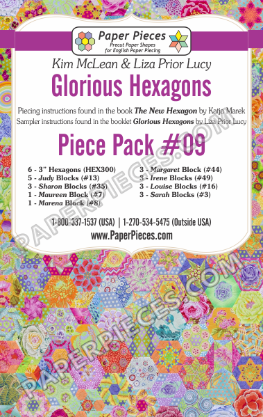 Glorious Hexagons Piece Pack 9