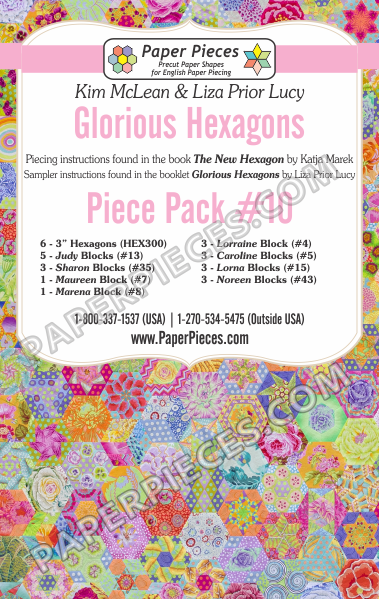 Glorious Hexagons Piece Pack 10