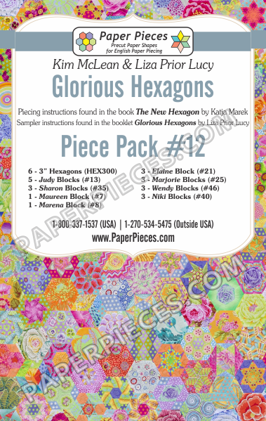 Glorious Hexagons Piece Pack 12