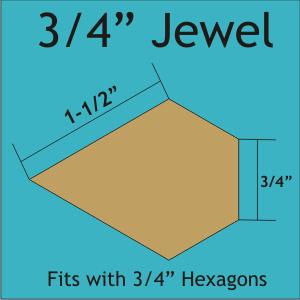 3/4 Jewel Shape